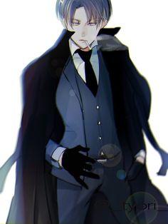 Levi Ackerman_Attack on Titan_Shingeki no kyojin Levi Ackerman, Blue Hair Anime Boy, Tokyo Ghoul, Levi X Petra, Anime Military, Rivamika, Naruto, Itachi, Eruri