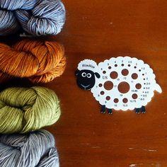 HiyaHiya Sheep Needle Gauge the picture is from HiyaHiya North America on Facebook