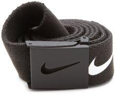 Nike Golf Mens Tech Essential Belt, Black, One Size