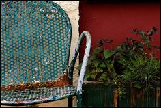 ..old chair.......Photo by Mark A Culbertson...