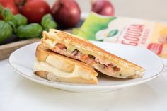 Recipe: Margherita Pizza Grilled Cheese — Sponsored by Arla®