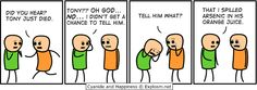 That last frame was UNexpected, but Totally made me bust out laughing!