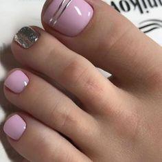 Toenail Art Designs, Manicure Nail Designs, Pedicure Nail Art, Manicure And Pedicure, Toe Designs, Pretty Toe Nails, Cute Toe Nails, Pretty Nail Art, Diy Nails