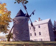 Point Claire Wind Mill - Built in 1709  Location: In Quebec near Montreal