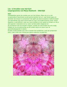 kruiden voor het hart by kruidje les via internet - kruidenkennis via slideshare
