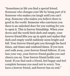 But forever doesn't really mean forever.