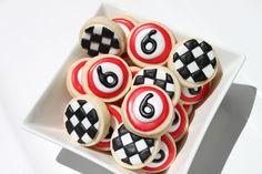 Racing Mix - Four Dozen Hand Decorated Sugar Cookies