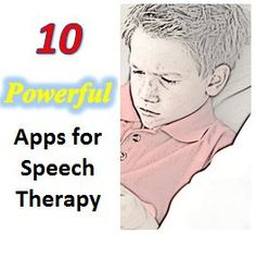 Speech therapy apps for parents, teachers, and therapists!