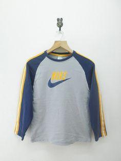 Vintage 90's Nike Air Sweatshirt Sport Hip by RetroFlexClothing