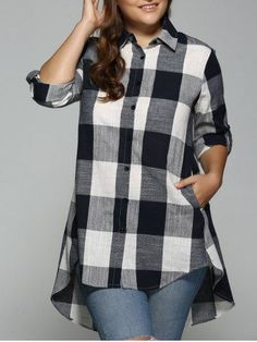 GET $50 NOW | Plaid Print High Low Plus Size ShirtFor Fashion Lovers only:80,000+ Items • New Arrivals Daily • FREE SHIPPING Affordable Casual to Chic for Every Occasion Join RoseGal: Get YOUR $50 NOW!http://www.rosegal.com/plus-size-tops/plaid-print-high-low-plus-701257.html?seid=6795484rg701257