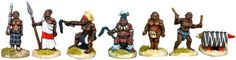 Tribal Chieftains with Retinue