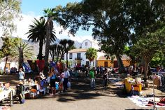 market Argual La Palma