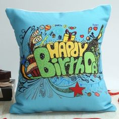 Cushions Online Birthday Gifts, Special Birthday Gifts, Online Gifts, Girl Birthday, Happy Birthday, Personalised Cushions, First Love, Anniversary, Throw Pillows