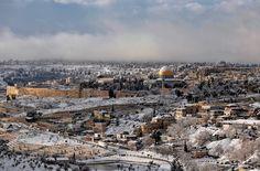 Bilder aus Jerusalem: Schnee in der heiligen Stadt | Gesellschaft | ZEIT ONLINE
