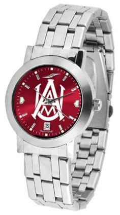 Alabama A & M Bulldogs Dynasty AnoChrome Men's Watch by SunTime. $92.11.
