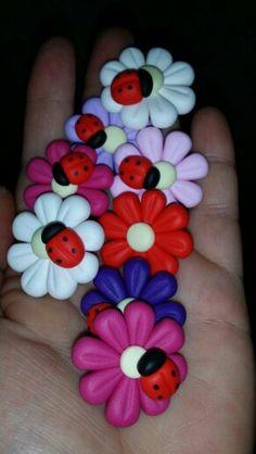 Fimo calamite fiori bomboniere