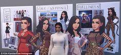 Kim Kardashian admitted she didn't anticipate the smash hit success of her Hollywood game. Kim Kardashian Hollywood Game, Kardashian Style, Kardashian Jenner, Kardashian Fashion, Italy Wedding, Girl Crushes, Reality Tv, Embedded Image Permalink