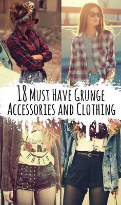 18 Must Have Grunge Accessories and Clothing - http://ninjacosmico.com/18-must-have-grunge-accessories-clothing/
