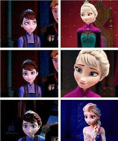 Elsa and her mom