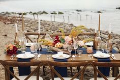 Boho Beach Wedding Inspiration: Maibu | Boho Beach Wedding Inspiration: Malibu California | Vendors are Butteryend Cake | Meadows Events LLC | Roots and Stems Florals | Dress LeZu  shoot by @anokiart nia-destination-wedding-style-photo-shoot-laguna-beach/