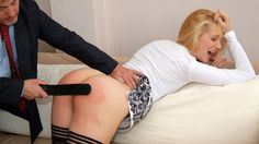 Spank my wife bare