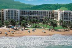 The Wyndham Grand Resort in Puerto Rico.