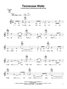 Written for Solo instrument (Ukulele [notation]). Purchase and print sheet music now! Print Sheet Music, Sheet Music Pdf, Violin Sheet Music, Violin Songs, Pollen, Tennessee Waltz, Musik