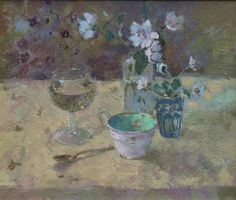 Still Life with Mallow