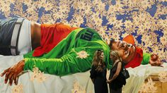 The painter who remixes classical European art with black urban ...