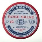 C.O. Bigelow Rose Salve - This is awesome and can be used for lips, elbows etc. My lips get dry, cracked and chapped during the winter and this makes them go back to normal in a day!