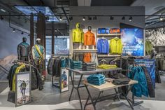 Retail Design Blog — The North Face® Flagship Store by Green Room,...