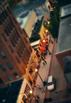 Tiny Town Asheville by desertdragon, via Flickr
