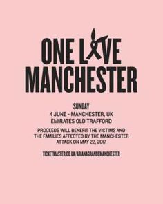 Music Stars Supporting Ariana Grande's Manchester Benefit Concert On June 4th http://www.wonderchannel.it/2017/05/30/concerto-benefico-a-manchester-il-4-giugno/ #Manchester #ArianaGrande