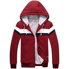 Partiss Men's Lined Pull Zip Fleece Hoodie Jacket Chinese L,Red Partiss http://www.amazon.com/dp/B017X7TWRO/ref=cm_sw_r_pi_dp_OhArwb09414DF