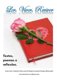 Capa do Livro em PDF com textos de Vera Lúcia Valentim