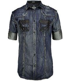 Roar Devoe Button Front Shirt