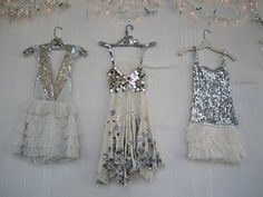 I can't imagine the occasion, but boy are these dresses tute....sparkle!!!