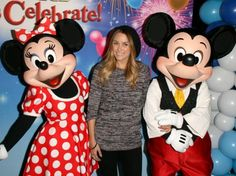Celebs at the Disney on Ice Lets Celebrate! premiere