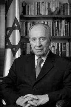 Shimon Peres 2.8.1923 - 28.9.2016, israeli politician (9th President of Israel 2007-2014)