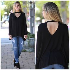 b97c87e7a7 Fashionable Fall Choker Top From Cousin Couture.