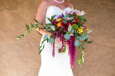 Jewel Tone Bridal Bouquet by Blake's Floral Design Reno l River School Farm l Photography l Jewel Tone Wedding, Green Wedding, Bright Green, Jewel Tones, School Farm, Floral Design, Bouquet, Artsy, Jewels