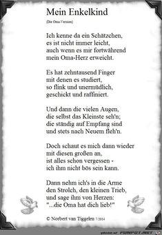 Wunderschönes Gedicht über Das Oma Sein I Am Pinterest Family