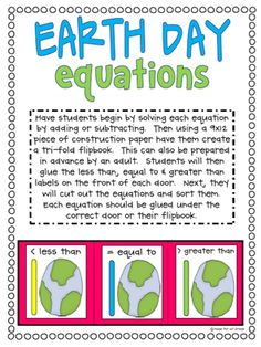 Earth day equations