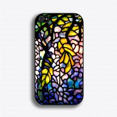 Tiffany Stained Glass - Iphone 4 Case, Iphone Case And Iphone 5 Case Tiffany Stained Glass, Tiffany Glass, Stained Glass Art, Iphone 6 Cases, Iphone 4s, Phone Case, Smartphone Covers, Gadgets And Gizmos, Mosaic Art