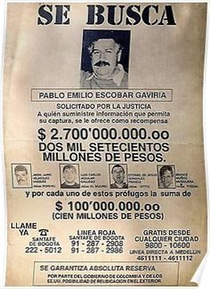 'Nobody is ever going to tell you': 3 theories regarding who killed 'The King of Cocaine' Pablo Escobar Pablo Escobar Poster, Don Pablo Escobar, Pablo Escobar Frases, Pablo Emilio Escobar, Narcos Escobar, Narcos Pablo, Fille Gangsta, Mafia Gangster, Gangster Tattoos