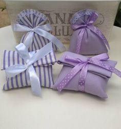 White and lavander...pois and stripes....