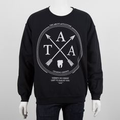 Go see @rrusa's THE AMITY AFFLICTION - Arrow Crewneck Sweatshirt omgomgomg neeeeeeed