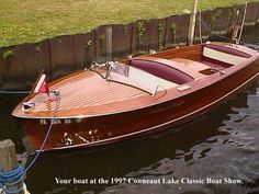 1952 Chris Craft Special Runabout 17' Speed Boats, Power Boats, Chris Craft Wooden Boats, Runabout Boat, Classic Wooden Boats, Cabin Cruiser, Vintage Boats, Best Boats, Old Boats