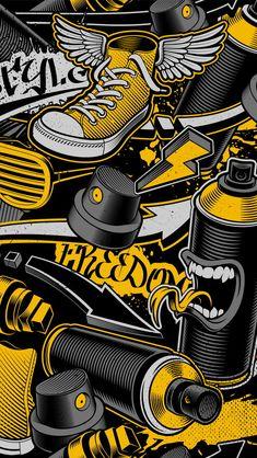 Iphone Wallpaper London, Graffiti Wallpaper Iphone, Samsung Galaxy 10, Samsung Galaxy Wallpaper, Joker Wallpapers, Live Wallpapers, Mobile Wallpaper, Wallpaper Backgrounds, Totenkopf Tattoos
