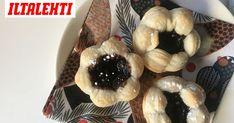Paistamalla joulutortut muffinivuoassa, niistä tulee normaalia kuohkeampia. Candies, Baking, Sweet, Ideas, Bakken, Bread, Backen, Postres, Roast
